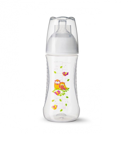 Bình sữa Bibi Happiness Play with us 260ml