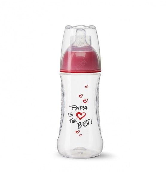 Bình sữa Bibi Happiness Mama Papa 260ml