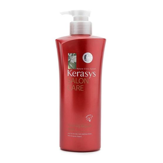 Dầu xả Kerasys Salon care Voluming (dành cho tóc uốn) 470ml