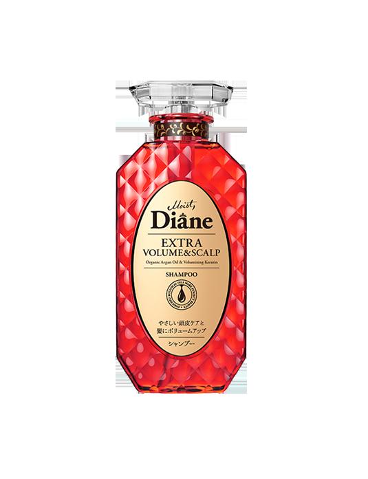 Dầu gội chống rụng & làm phồng tóc Moist Diane Extra Volume & Scalp