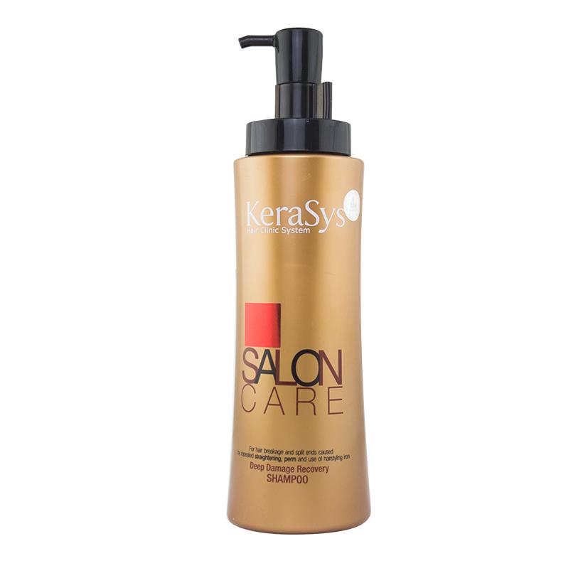 Dầu gội Kerasys Salon care (phục hồi tóc hư tổn nặng) 470ml