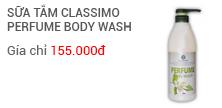 Sữa tắm Classimo Perfume (Hương nước hoa - tinh chất lô hội)