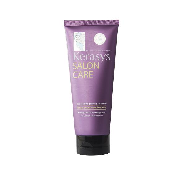 Hấp tóc Kerasys Salon care Straitening (cho tóc thường xuyên uốn, ép)- 200ml