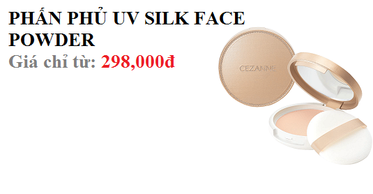 PHẤN PHỦ UV SILK FACE POWDER