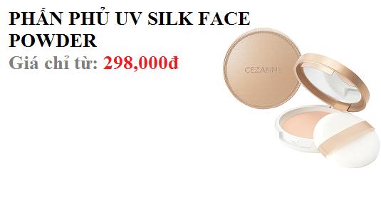PHẤN PHỦ UV SILK FACE POWDER