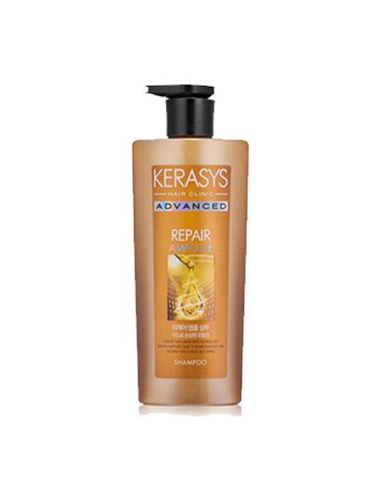 Dầu gội KERASYS ADVANCED REPAIR AMPOULE (Chăm sóc chuyên sâu_phục hồi tóc hư tổn nặng)