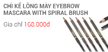 CHÌ KẺ LÔNG MÀY EYEBROW MASCARA WITH SPIRAL BRUSH