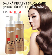Dầu xả Kerasys Salon care (phục hồi tóc hư tổn nặng) 470ml