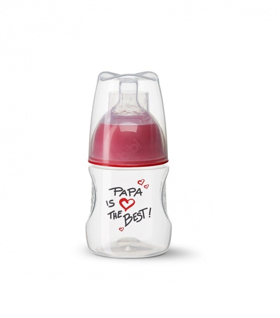 Bình sữa Bibi Happiness Mama Papa 120ml