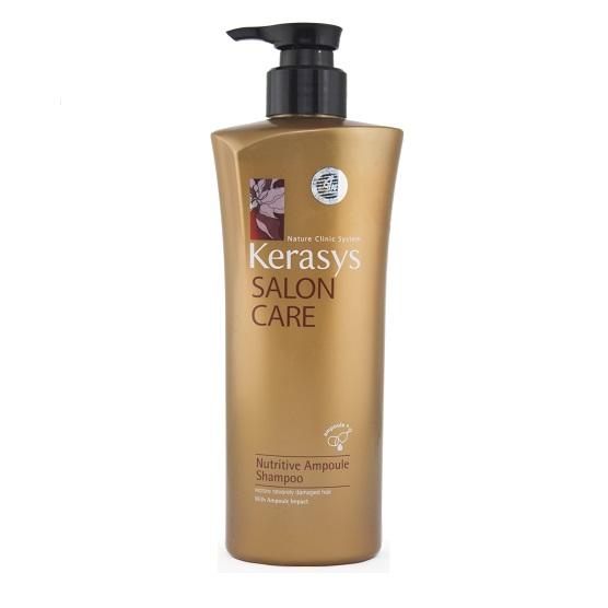 Dầu gội Kerasys Salon care Nutritive (dành cho tóc hư tổn) 600 ml