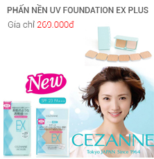 PHẤN NỀN UV FOUNDATION EX PLUS
